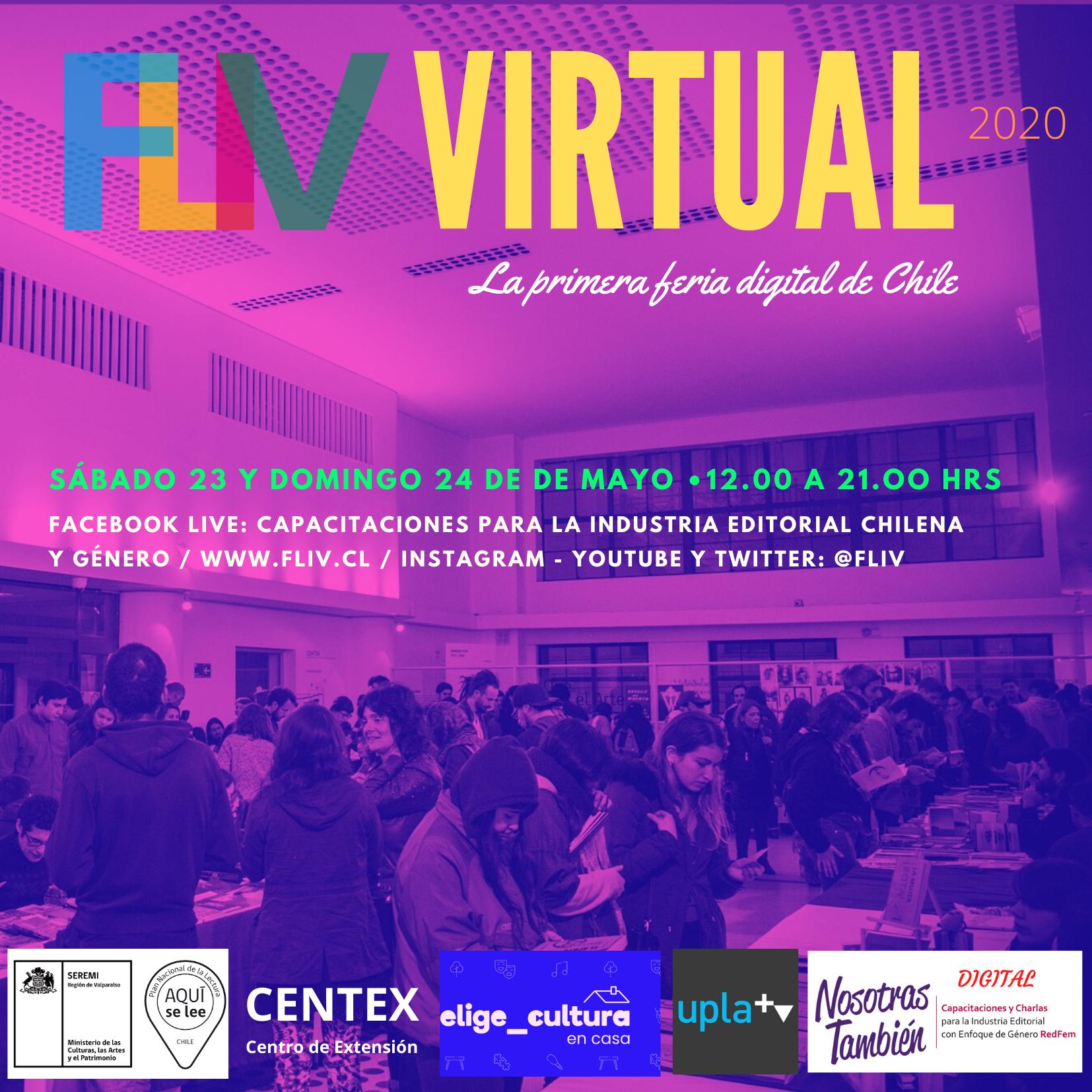 Editoriales independientes de Valparaíso se unen en primera feria del libro virtual